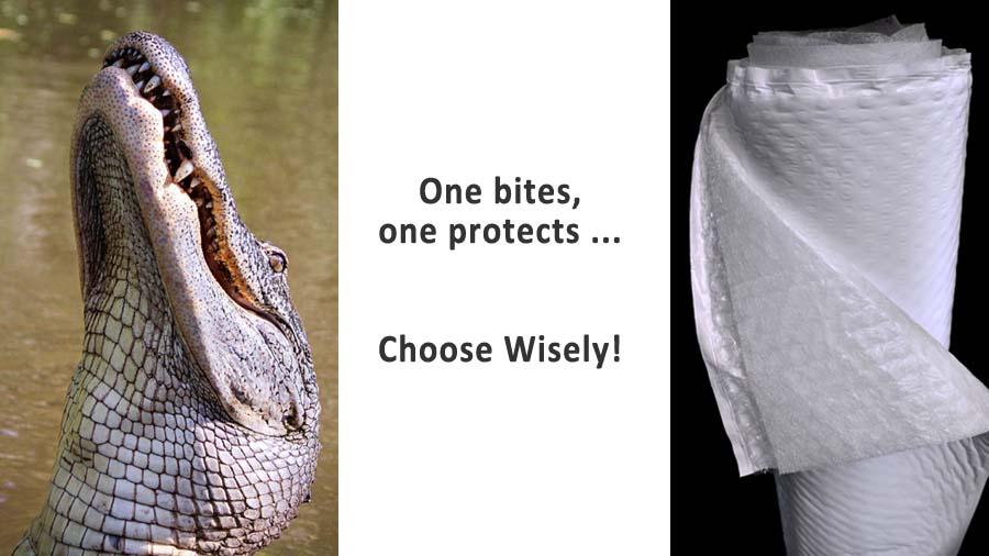 alligator vs alligator wrap