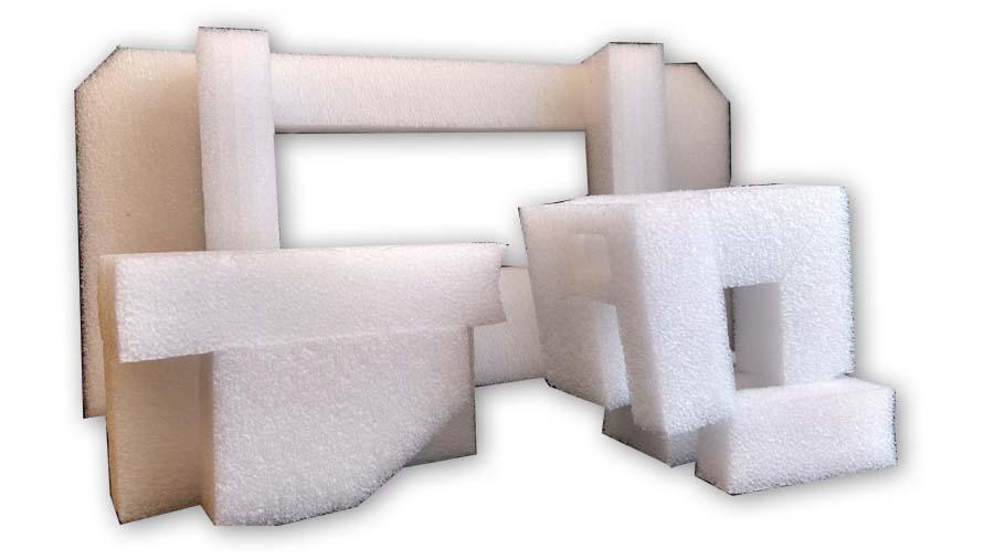 custom styrofoam packaging cut outs