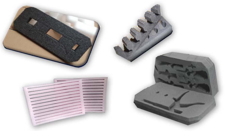 custom foam packaging cut outs