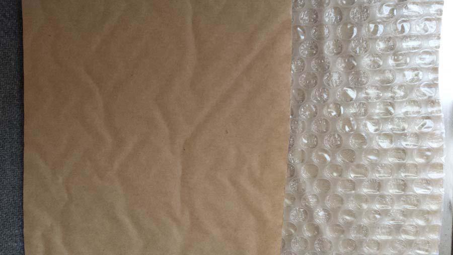 laminated bubble wrap - pabble