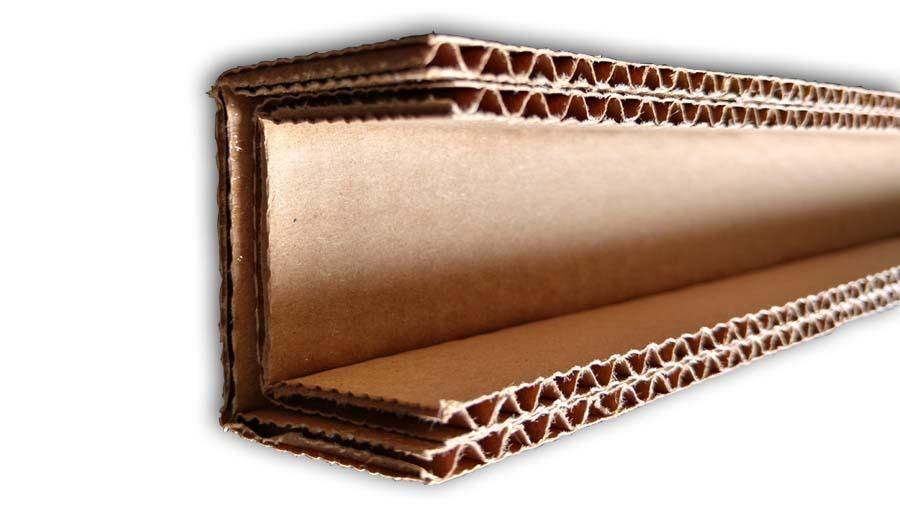 cardboard corrugated u-channel