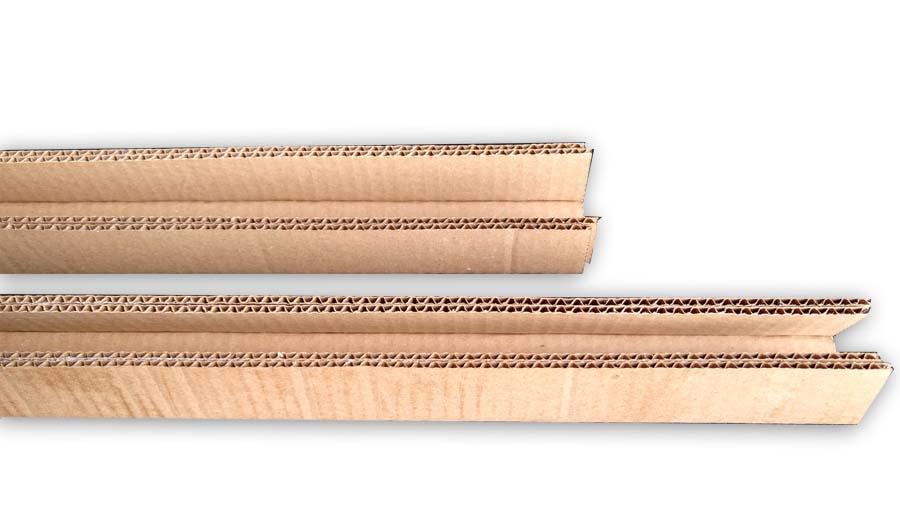 corrugated cardboard u-channel