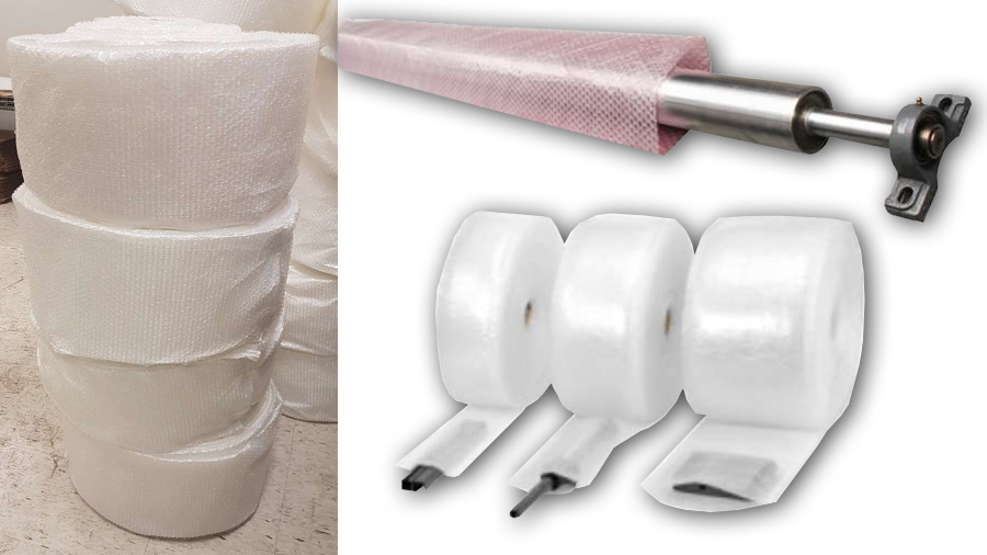 bubble wrap tubing packaging materials